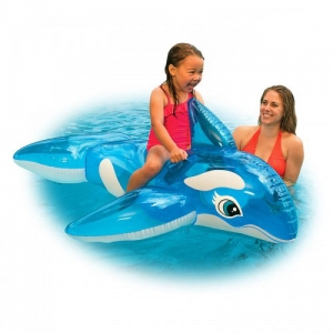 Intex แพปลาวาฬน้อย (สีฟ้าใส)