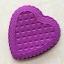 พิมพ์ซิลิโคน รูปหัวใจ 23.3*23*3.5 cm. thumbnail 2