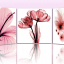 Art-XF ภาพแต่งห้องสวยๆ ดอกไม้ X-ray Flower 1ชุดได้ 3ภาพ thumbnail 2