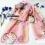 ผ้าพันคอ ชีฟอง Chiffon ผืนใหญ่ CF01002 thumbnail 4