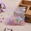 ถุงเบเกอรี่ ถุงขนมปัง แบบมีเทปกาว รูปหมี สีชมพู 100 ใบ/ห่อ (10*10+3 cm.) thumbnail 2