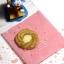 ถุงเบเกอรี่ ถุงขนมปัง แบบมีเทปกาว สีชมพู 100 ใบ/ห่อ (10*10+3 cm.) thumbnail 1