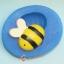 โมล พิมพ์ซิลิโคน รูปผึ้ง (พิมพ์ 2 มิติ) thumbnail 1