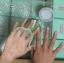 มาร์คมือนุ่ม ขั้นเทพ @Miss Moter Matcha Milk Hand Wax Mask thumbnail 8