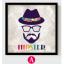 AG06 ภาพ Hipster ขนาด30*30 ซม/ภาพ thumbnail 2