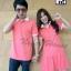 เสื้อคู่รักโปโลสีชมพูอมโอรส thumbnail 2