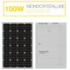 แผงโซล่าเซลล์ Solar Cell 100W Mono