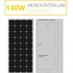 แผงโซล่าเซลล์ Solar Cell 140W Mono