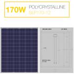 แผงโซล่าเซลล์ Solar Cell 170W Poly