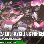 HG 1/144 ZAKUⅠ(KYCILIA'S FORCES)