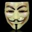 หน้ากาก V FOR Vendetta สีเขียวอ่อน thumbnail 1