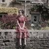 ชุดเดรสเกาหลีพร้อมส่ง Dress 5 ส่วน ผ้ายืดคอกลม แขนสั้น