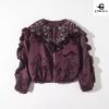 เสื้อผ้าเกาหลีพร้อมส่ง Bomber jacket ผ้าเนื้อดี