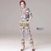 Set Versace ชุดเสื้อแขนสั้น+กางเกง