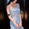 ชุดเดรสเกาหลีพร้อมส่ง Carolina Blue Ornamental Fringe Lace Dress