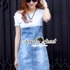 ชุดเดรสเกาหลีพร้อมส่ง Girly T Shirt Dress Gene