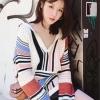 เสื้อผ้าแฟชั่นเกาหลีพร้อมส่ง โอเวอร์Size คาดิแกนท์ตัวยาวเนื้อผ้าดีนะคะ