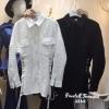 เสื้อผ้าเกาหลีพร้อมส่ง Shirtลูกไม้เกาหลีผ้าสวยมากค่า