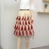 เสื้อผ้าเกาหลีพร้อมส่ง Wite & Red Unity Elegant Lady Beauty Set