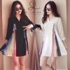 ชุดเดรสเกาหลีพร้อมส่ง Dress รุ่นนี้แนะนำเลยคะ ดีเทลเก๋น่ารักสุด ๆ
