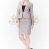 เสื้อผ้าแฟชั่นเกาหลีพร้อมส่ง Dress สูทแขนยาว