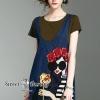 เสื้อผ้าแฟชั่นเกาหลีพร้อมส่ง Embroidered Girl Dress Set