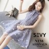 ชุดเดรสเกาหลีพร้อมส่ง Mini dress ลุคคุณหนูน่ารัก หวาน หรูหรา