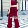 เสื้อผ้าเกาหลีพร้อมส่ง งานสวยหรูลุคสาวไฮคลาส ด้วยจั้มสูทกางเกงมีให้เลือก 3 สี