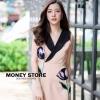 เสื้อผ้าเกาหลีพร้อมส่ง ชุดนี้ในตำนานกลับมาอีกครั้งในแบบฉบับสาวไฮโซ