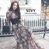 ชุดเดรสแฟชั่นเกาหลีพร้อมส่ง Dress ดีไซน์คอตั้ง แขนยาว