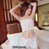 เสื้อผ้าเกาหลีพร้อมส่ง Sexy&Cute ชุดนอนไม่ได้นอน