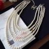 Chanel Pearl Necklace สร้อยมุกเกรดไฮเอนค่ะพร้อมส่ง