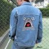 เสื้อผ้าเกาหลีพร้อมส่ง Jeans Jacket ฉลาม