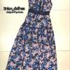เสื้อผ้าเกาหลีพร้อมส่ง Maxi Dress แบรนด์ KOREA