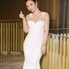 ชุดเดรสเกาหลีพร้อมส่ง Maxi Dress แบบ ว่า สวยม๊ากกก บุซับในด้วยซิลล์
