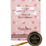 BISOUS BISOUS Mineral Gel Eyeliner สีดำ 8g. อายไลเนอร์เนื้อเจลพร้อมพู่กันในกล่อง