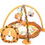 F230.เพลยิม/บ่อบอล สิงโต รายละเอียด สำหรับเด็กแรกเกิด - 18 เดือน สามารถทำเป็นบ่อบอล เสริมสร้างกล้ามเนื้อ กระตุ้นความรู้สึกซึ่งเหมาะสำหรับเด็กวัยหัดเดิน สร้างการเรียนรู้ ประกอบด้วยลูกบอลหลากสี 30 ลูก จัดเก็บได้สะดวกมีโมบายแขวน น่ารัก ขนาด73*83*55cm