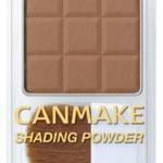 CANMAKE SHADING POWER #01Danish Brown 4.4g.เชดดิ้งเนื้อฝุ่น เพื่อโครงหน้าที่เรียวสวย