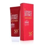 Welcos Leports Defence Sun Cream SPF PA 50+++ ครีมกันแดดที่มีส่วนผสม SPF 50 PA+++ มีคุณสมบัติกันเหงื่อ กันน้ำ