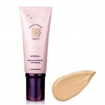 Etude House Precious Mineral BB Cream Bright Fit #02 (Light Beige)ผิวขาว 60g. บีบีน้ำแร่ผสมผงไข่มุก ผิวเนียนสวยเปล่งประกาย