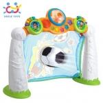 FH937.Huile Toys ประตูฟุตบอล Scoring Goals กีฬาที่เด็ก ๆ ชื่นชอบ มากับประตูเสริมพัฒนาการให้สนุก มาในแบรนด์ Huile Toys แบรนด์ชั้นนำกับของเล่นเด็ก คุณภาพยอดเยี่ยม วัสดุเกรดเอ สีสันสดใส แข็งแรง ทนทานต่อการใช้งาน ไม่มีรอยคม ใช้สีปลอดภัยสำหรับเด็ก ลูกบอลมีขนาด