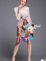 เสื้อผ้าแฟชั่นเกาหลีพร้อมส่ง ลุคสาวแฟชั่นนิสต้า งานเดรสสวยเก๋