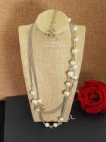 Chanel Pearl Necklace สร้อยคอมุกยาว