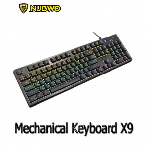 NUBWO X9 (KG400) Semi Mechanical Keyboard Gamming