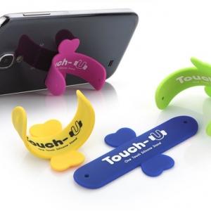 ขาตั้งมือถือ แปะหลังมือถือ พกพา Touch-U stand for iphone smartphones