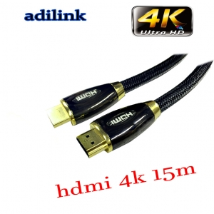 Adilink high speed hdmi cable Full hdmi 3D 4kx2k 2160p 15m