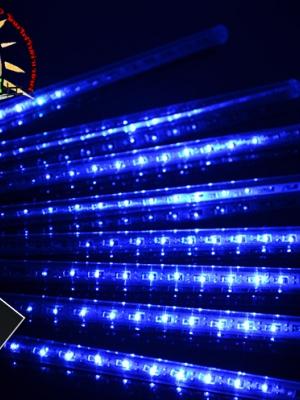 ไฟดาวตก 8 แท่ง 30 CM สีฟ้า