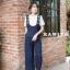 เสื้อผ้าเกาหลีพร้อมส่ง เซทเอี้ยมเนื้อผ้าดีเว่อร์ ไม่ยับมาเป็นเอี้ยมทรงสวย thumbnail 5