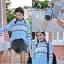 เสื้อผ้าเกาหลีพร้อมส่ง เสื้อไหมพรมแขนยาว ลายภาษาอังกฤษไหมพรมเนื้อนิ่ม thumbnail 7