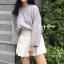 เสื้อผ้าเกาหลีพร้อมส่ง Smooch Sweater เสื้อไหมพรมแขนยาว thumbnail 3